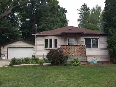 Michigan Center Single Family Home For Sale: 212 Showerman