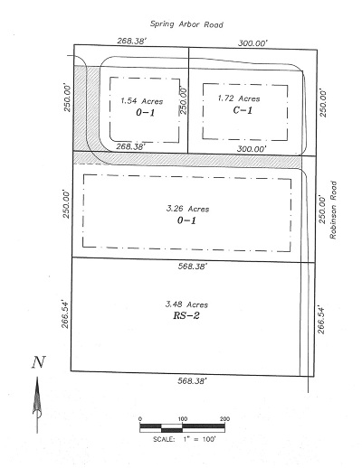 Jackson County Commercial Lots & Land For Sale: Vl Spring Arbor Rd