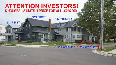 Multi Family Home Sold: 346 W Wesley