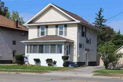 Jackson Single Family Home For Sale: 1002 W Ganson