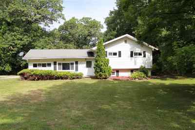 Single Family Home For Sale: 12244 Folks Rd