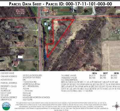 Jackson County Residential Lots & Land For Sale: 115 Hatch