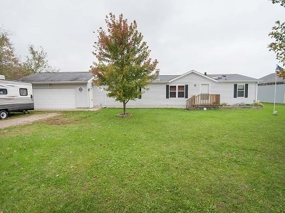 Grass Lake Single Family Home For Sale: 789 Arthur Dr