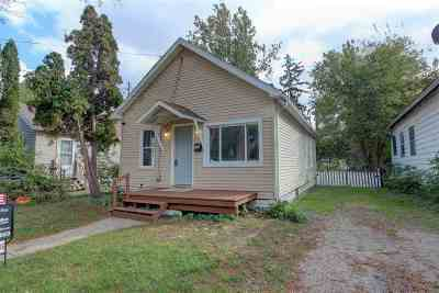 Jackson MI Single Family Home For Sale: $44,000