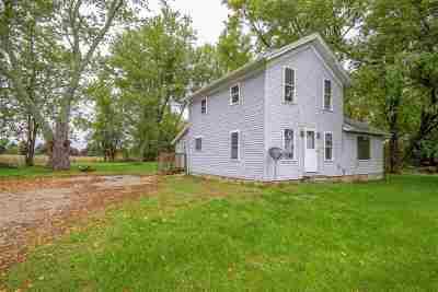 Jonesville Single Family Home For Sale: 5374 E Chicago Rd