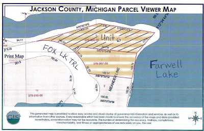 Jackson County Residential Lots & Land For Sale: Unit 6 Fox Lake Trail