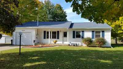 Brooklyn MI Single Family Home For Sale: $249,900