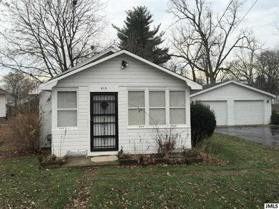 Jackson MI Single Family Home Contingent - Financing: $84,900