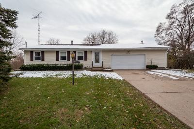 Michigan Center Single Family Home For Sale: 3831 Harshbarger Rd