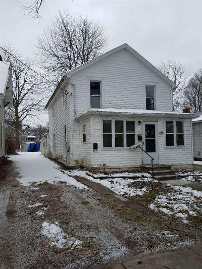 Jackson MI Single Family Home For Sale: $15,000