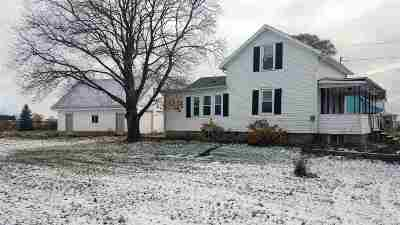 Lenawee County Single Family Home For Sale: 12194 Van Buren