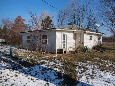 Grass Lake MI Single Family Home For Sale: $119,000