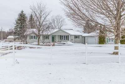 Dansville Single Family Home Contingent: 320 S Williamston Rd