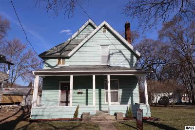 Jackson Single Family Home For Sale: 1609 First St