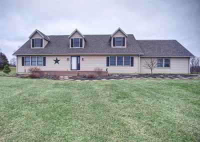Brooklyn MI Single Family Home For Sale: $309,900