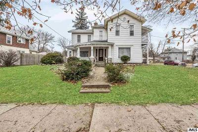 Single Family Home For Sale: 1036 Lansing Ave