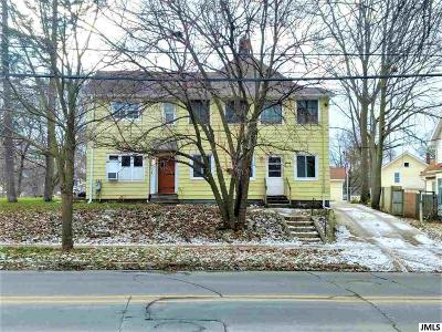 Jackson MI Multi Family Home For Sale: $45,000