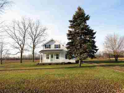 Lenawee County Single Family Home Contingent - Financing: 8398 Weston Rd