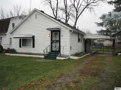 Single Family Home Contingent - Financing: 1125 Scott St