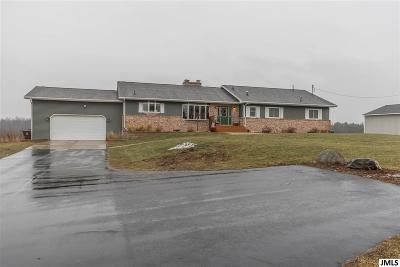 Leslie Single Family Home For Sale: 2660 Ingalls Rd