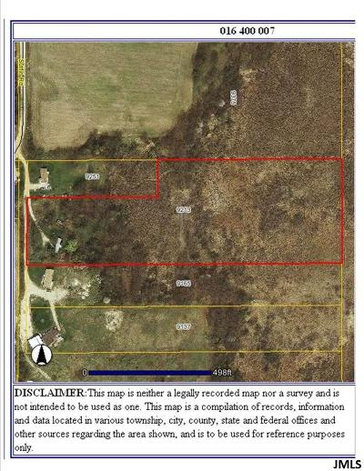 Jerome MI Residential Lots & Land For Sale: $77,900