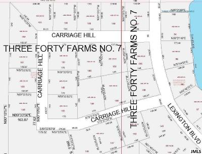 340 Farms, 340 Farms Sub. #4, Golf View Hills, Golfview Hills No 5, Three Forty Farms, Three Forty Farms No 4 Residential Lots & Land For Sale: Carriage Hill