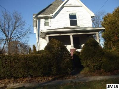 Jackson Single Family Home For Sale: 114 Moore St