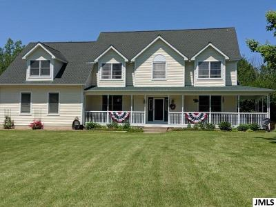 Onsted MI Single Family Home For Sale: $414,900