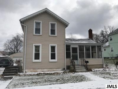 Jackson Single Family Home For Sale: 815 Foote St