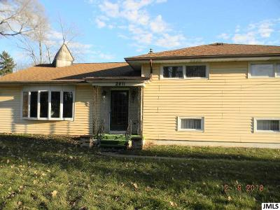 Single Family Home For Sale: 2811 Kibby Rd