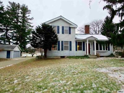 Spring Arbor Single Family Home For Sale: 6410 King Rd