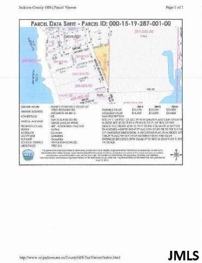 Grass Lake Residential Lots & Land Contingent: Mack Island Rd