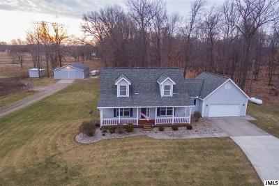 Mason Single Family Home For Sale: 2470 S Eifert