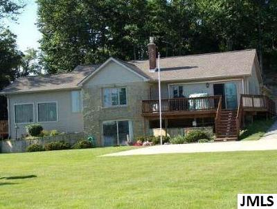 Lenawee County Single Family Home For Sale: 1215 Lemm Rd