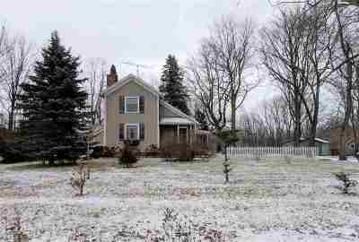 Dansville Single Family Home For Sale: 2165 E Dexter Trail