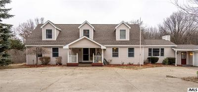 Grass Lake Single Family Home For Sale: 12900 Bohne Rd