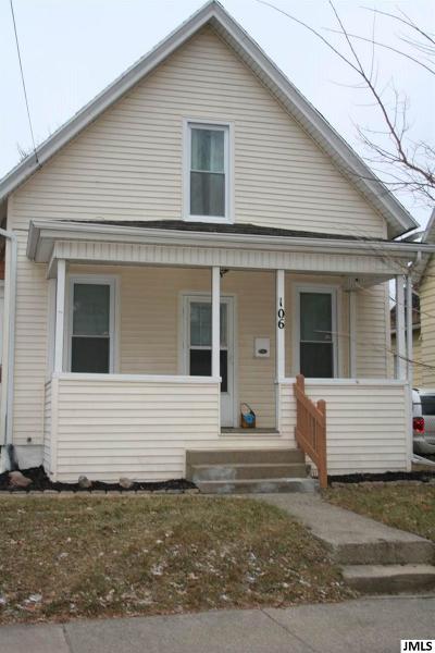 Jackson MI Single Family Home For Sale: $68,500