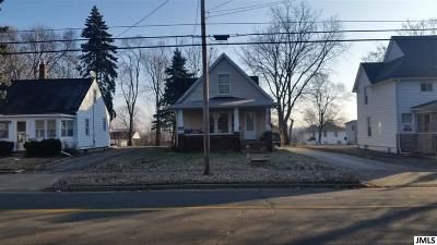 Jackson Single Family Home For Sale: 1211 Lansing Ave