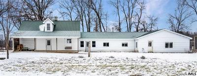 Homer MI Single Family Home For Sale: $179,900