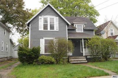 Jackson Single Family Home For Sale: 609 Union St