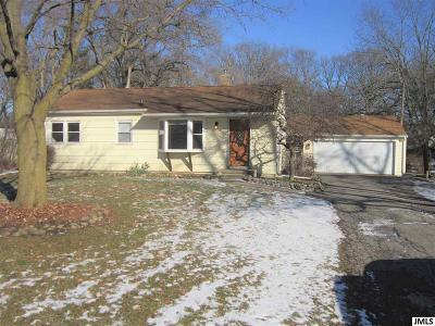 Jackson MI Single Family Home Contingent - Financing: $120,000
