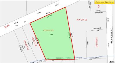 Jackson Commercial Lots & Land For Sale: V.l. Spring Arbor Rd