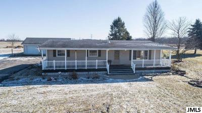 Munith Single Family Home For Sale: 12775 Musbach