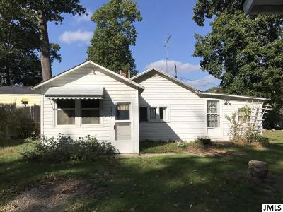 Pleasant Lake Single Family Home For Sale: 1697 Indian Tr