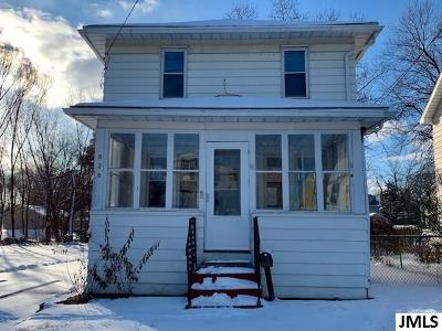 Jackson MI Single Family Home For Sale: $39,900