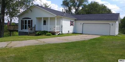 Jackson Single Family Home For Sale: 8001 Moon Lake Rd