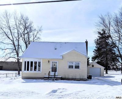 Jackson MI Single Family Home For Sale: $124,900