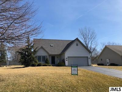 Spring Arbor Single Family Home For Sale: 3501 Wakefield