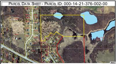 Jackson MI Residential Lots & Land For Sale: $72,000