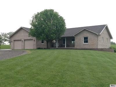 Grass Lake Single Family Home For Sale: 15915 Below